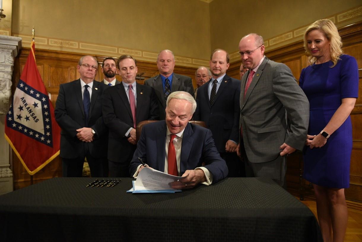 Governor Hutchinson Signs Bill Highway Funding_1552425911231.jpg.jpg