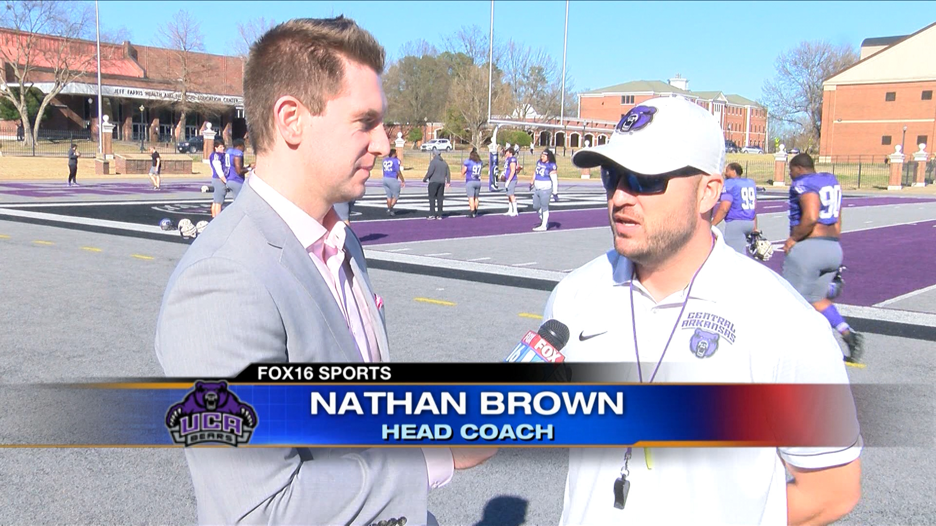 One-on-One with UCA's Nathan Brown