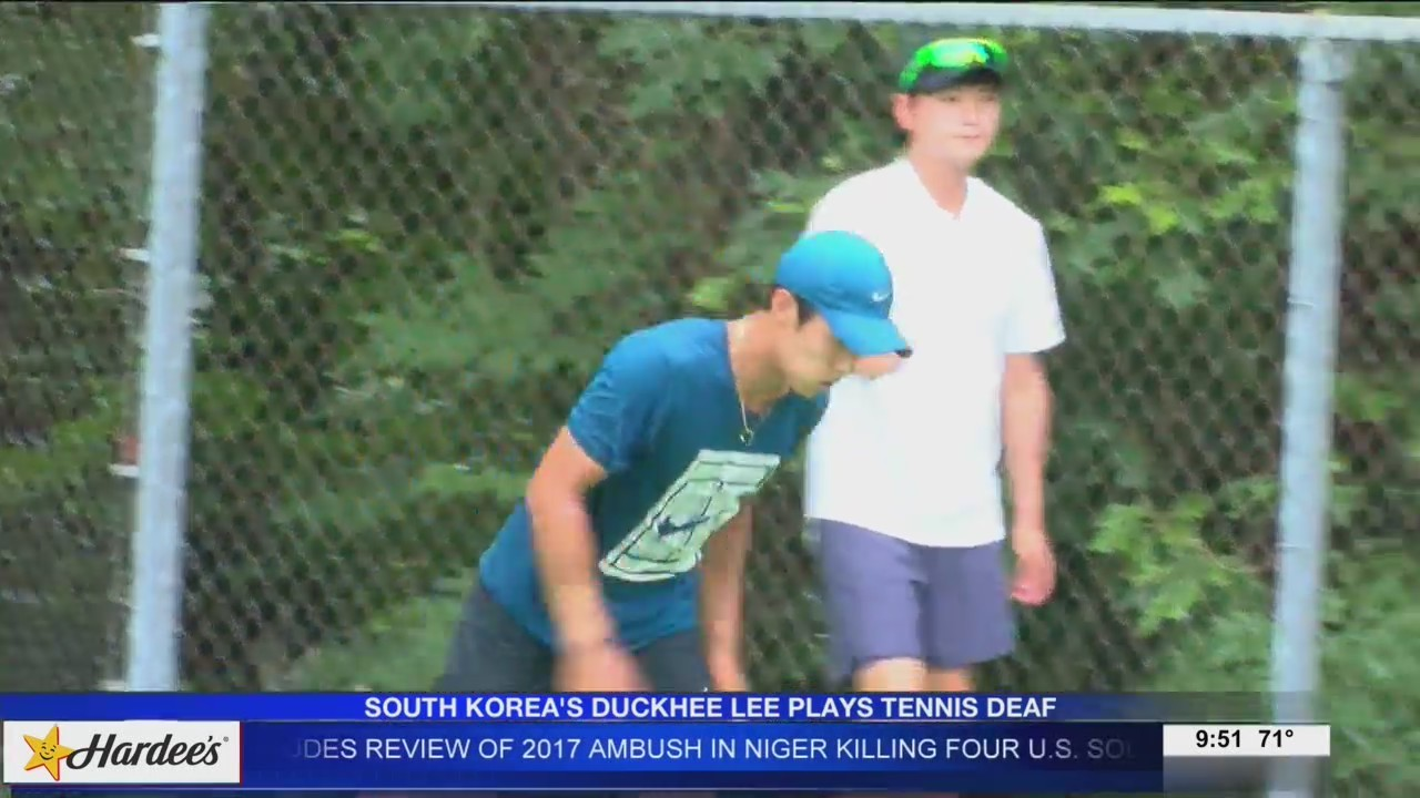 Duckhee Lee Battles Through Being Deaf on the Court