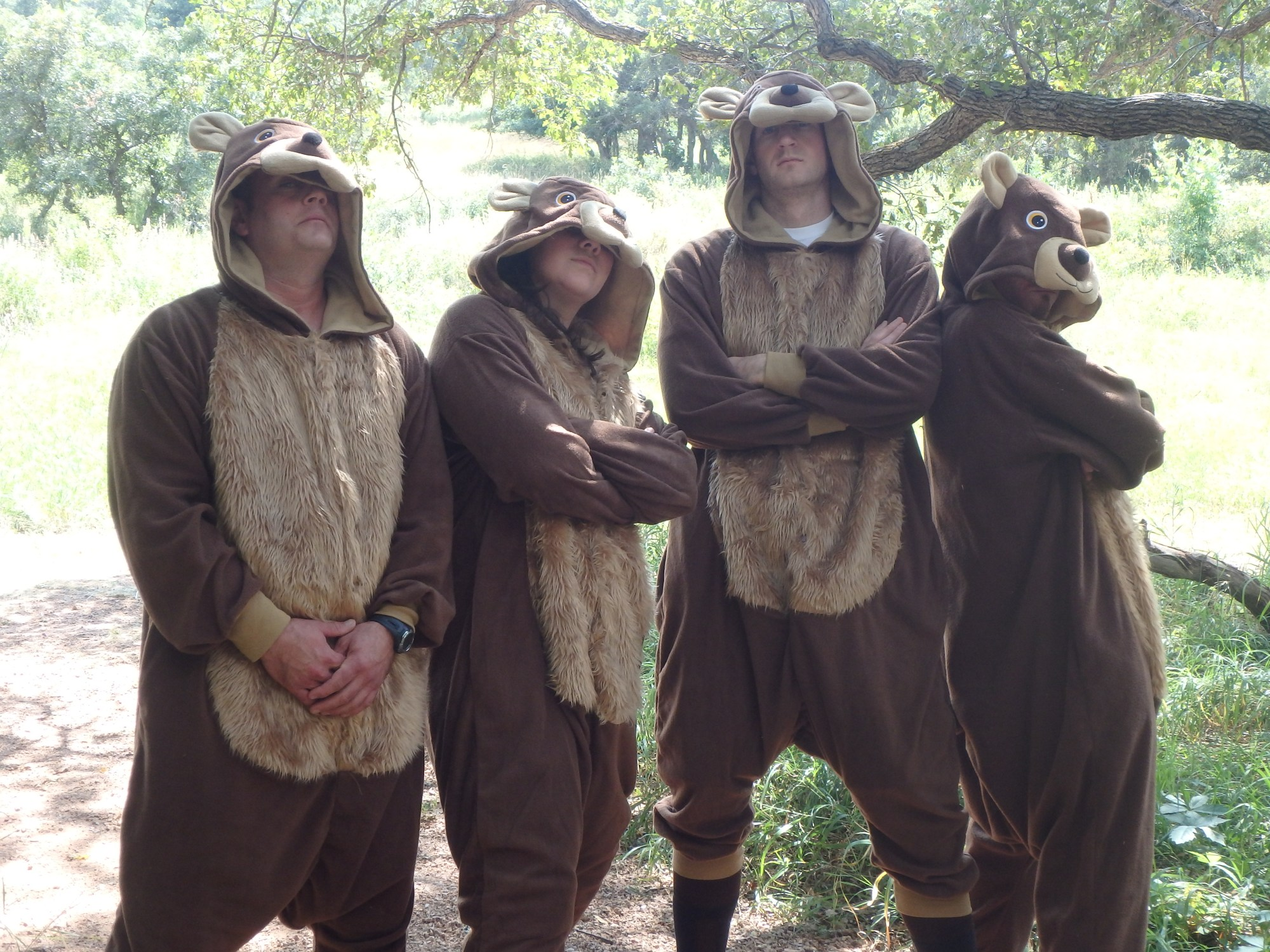 Participants in the first-ever Bear Creek Bear Run will each receive a bear costume to keep. _ El Paso County Public Information Office_106678