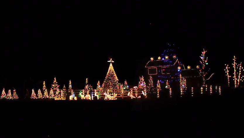 Musical Christmas Lights.Video Salida Couple Decorates Home For Annual Christmas