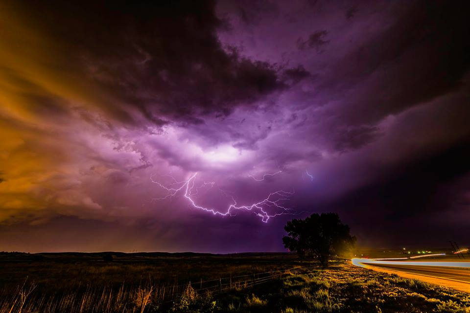Lightning over Highway 94 near Ellicott Thursday night _ Dave Hodge_178529