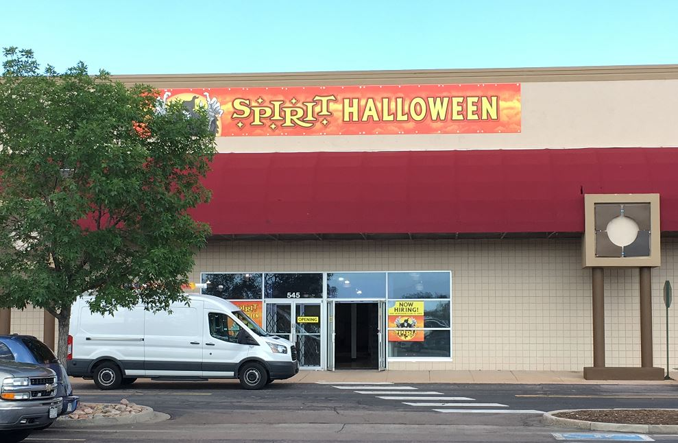 Beautiful Spirit Halloween Store In Colorado Springs Gearing Up For ...