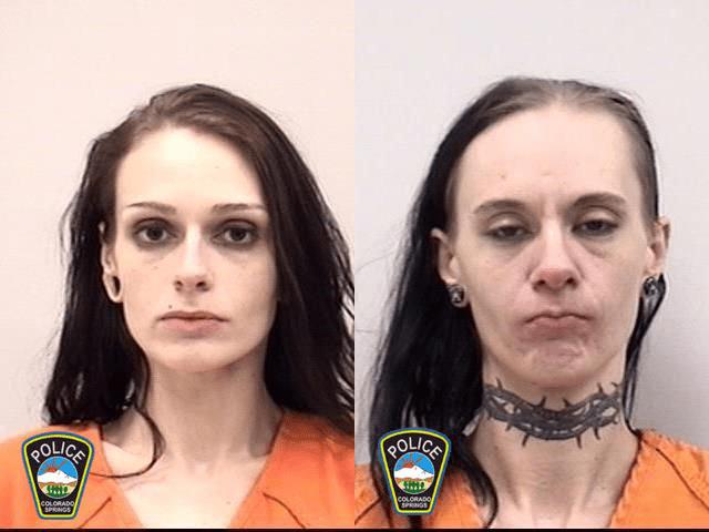 Christina Ketchell and Jennifer Mooseman Colorado Springs Police Department