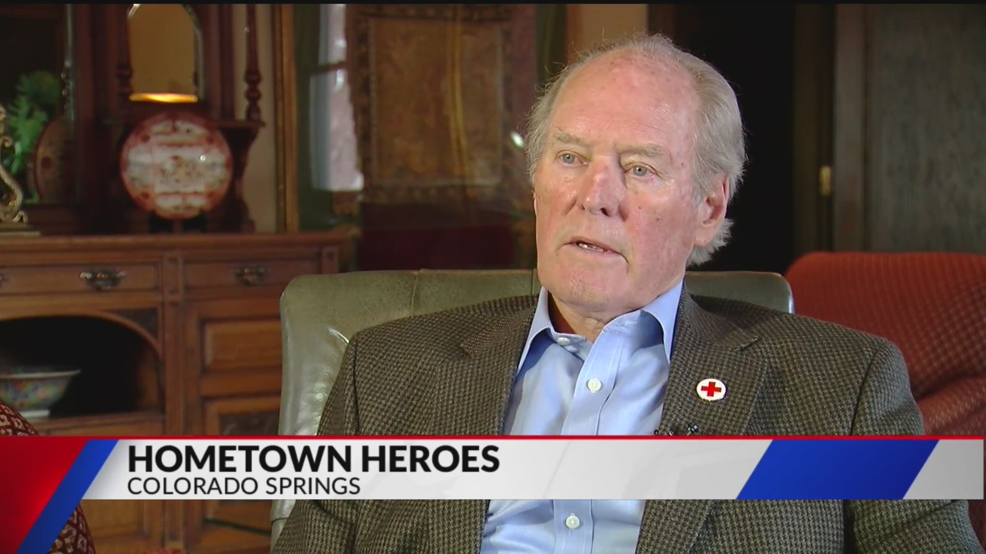 Bill Tutt recognized with Hometown Heroes Humanitarian Award