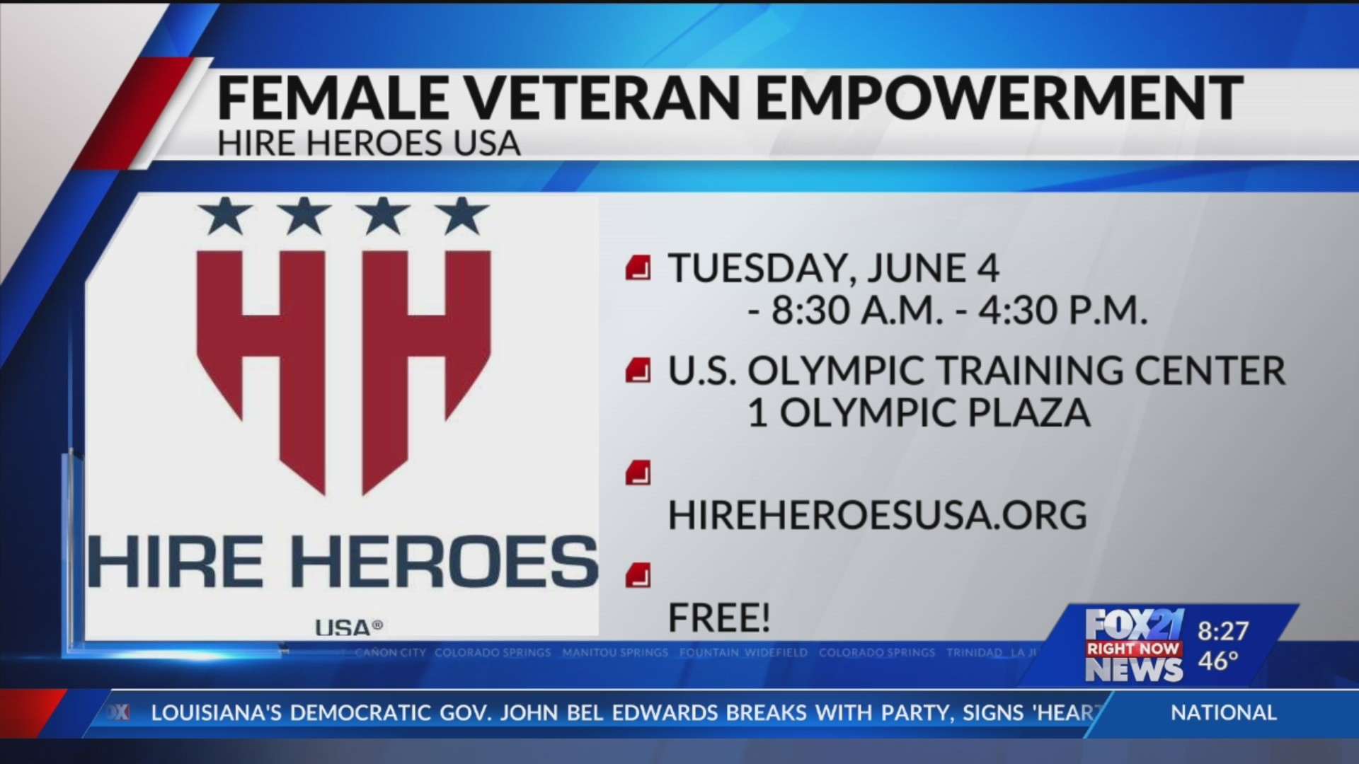 Hire Heroes hosting free workshop for female military members and veterans