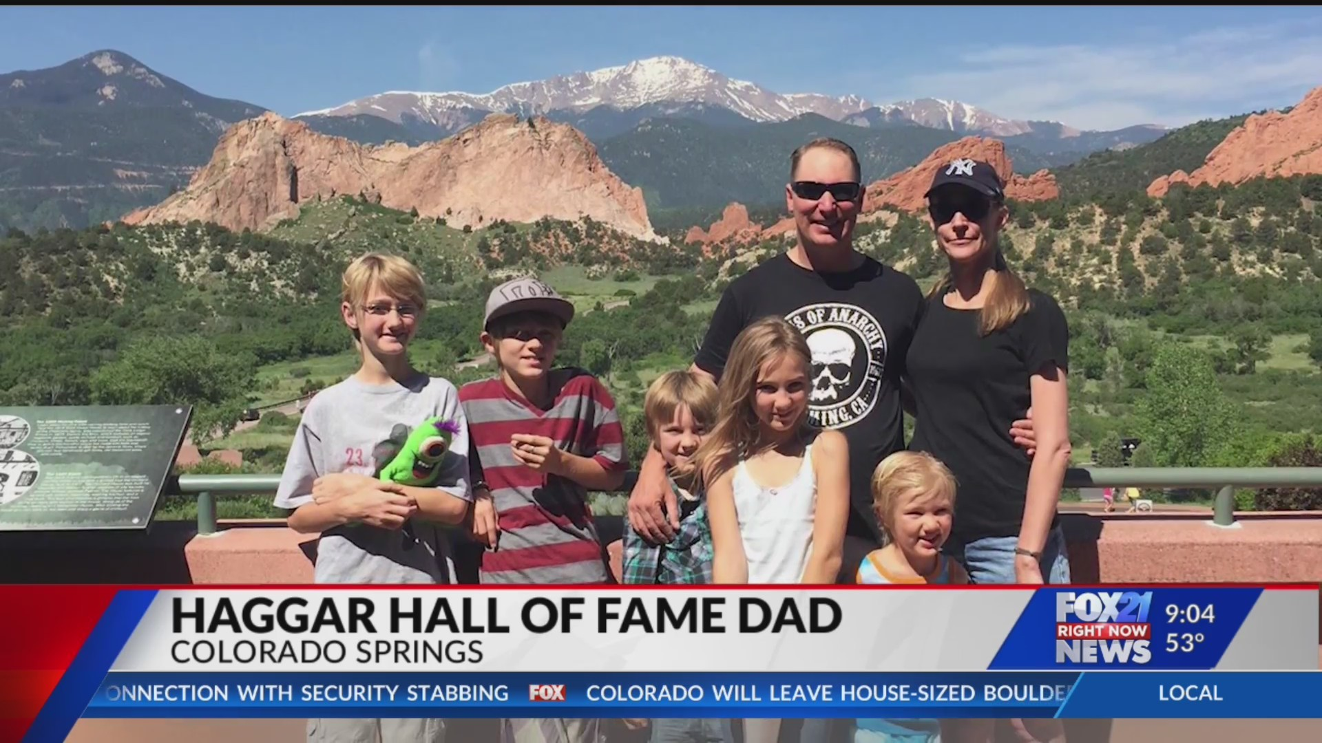 Colorado Springs Army dad named Haggar Hall of Fame Dad