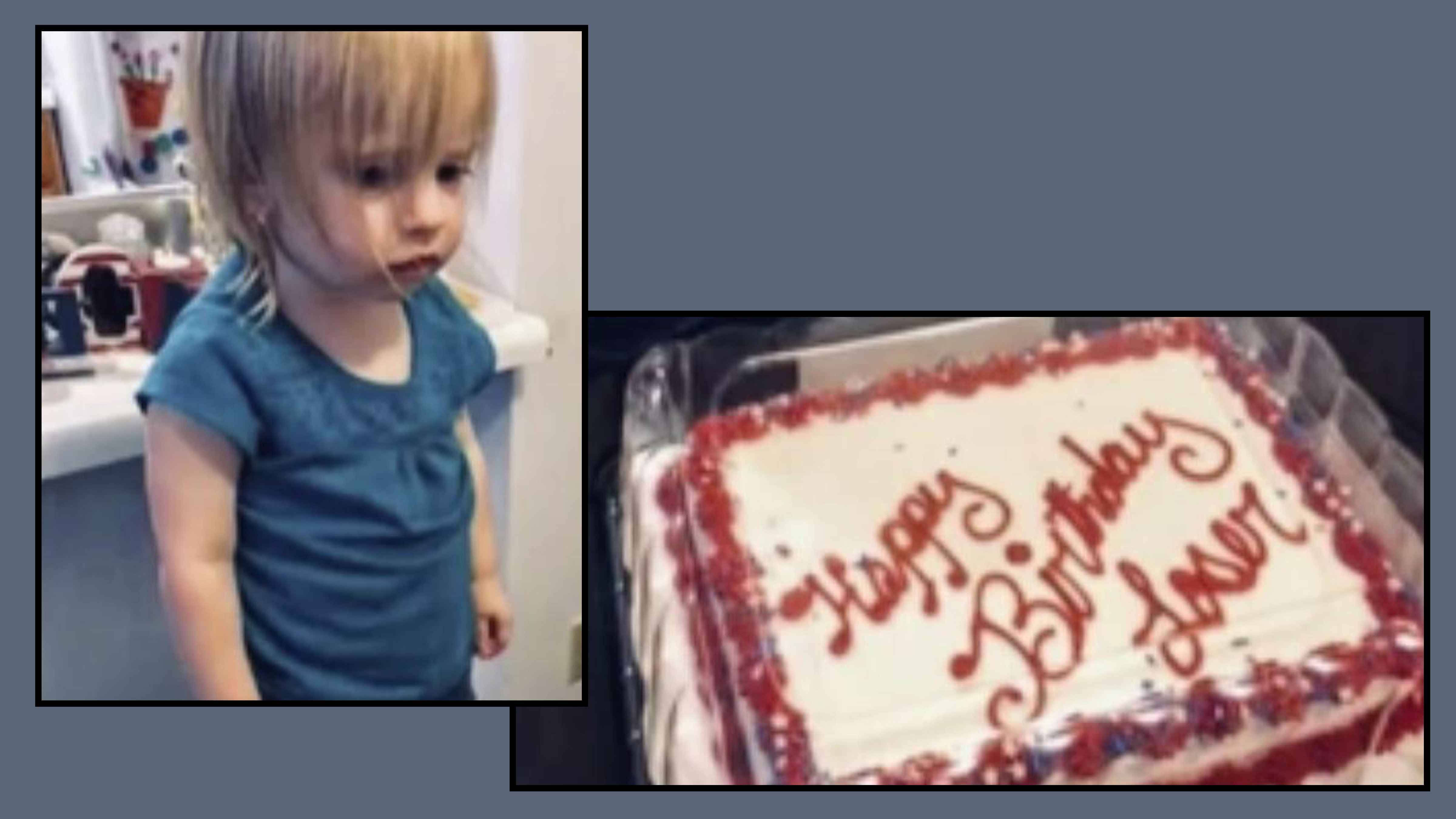 Walmart Mix Up Leaves Toddler With Happy Birthday Loser Birthday Cake Fox21 News Colorado