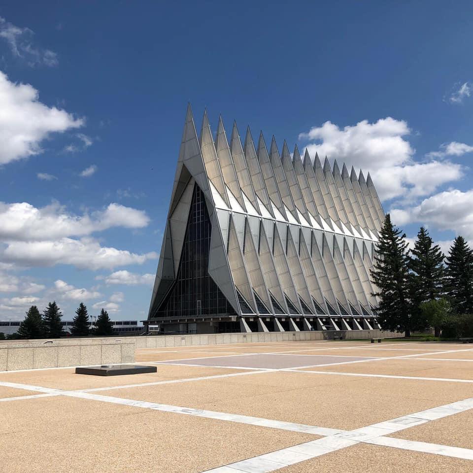 The U.S. Air Force Academy Cadet Chapel in August 2019 / Abbie Burke - FOX21 News