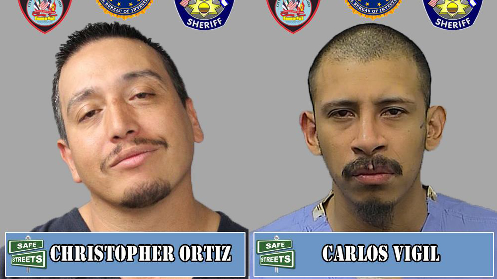 Christopher Ortiz and Carlos Vigil / Pueblo Police Department