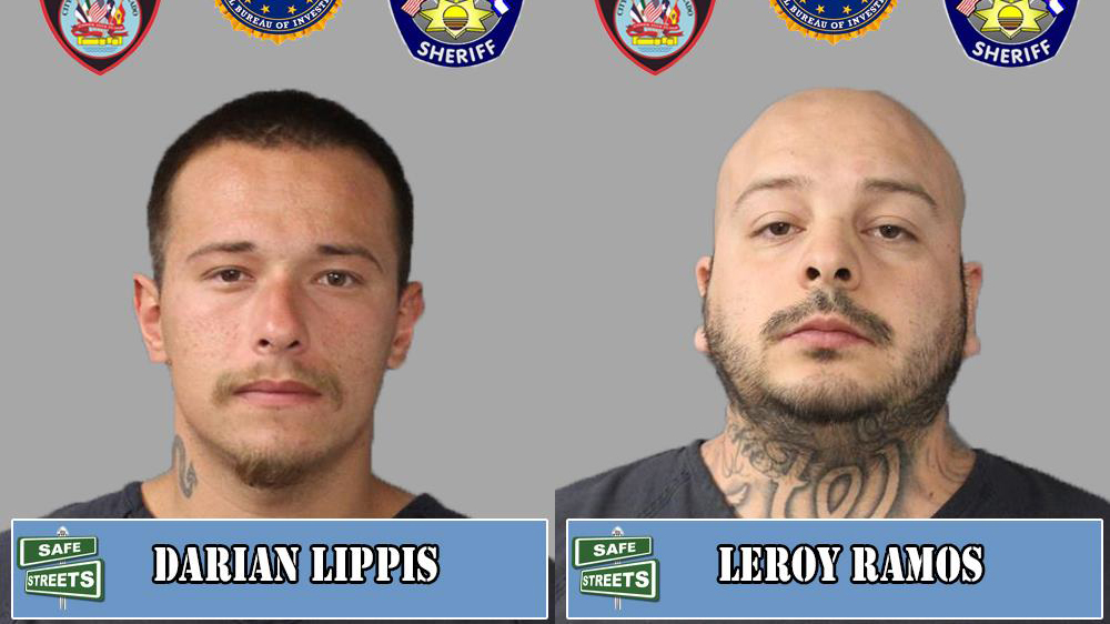 Darian Lippis and Leroy Ramos / Pueblo Police Department