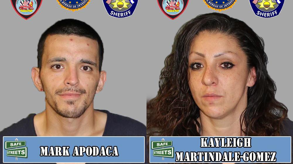 Mark Apodaca and Kayleigh Martindale-Gomez / Pueblo Police Department