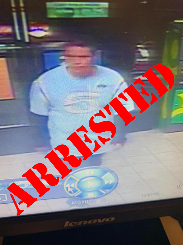 Image provided by Pueblo Police shows the suspect in a car theft in Pueblo on October 1.