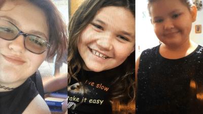 Leanne, Ashlyn, and Serenity / Photos courtesy Aurora Police Department