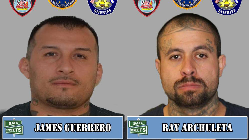James Guerrero and Ray Archuleta / Pueblo Police Department
