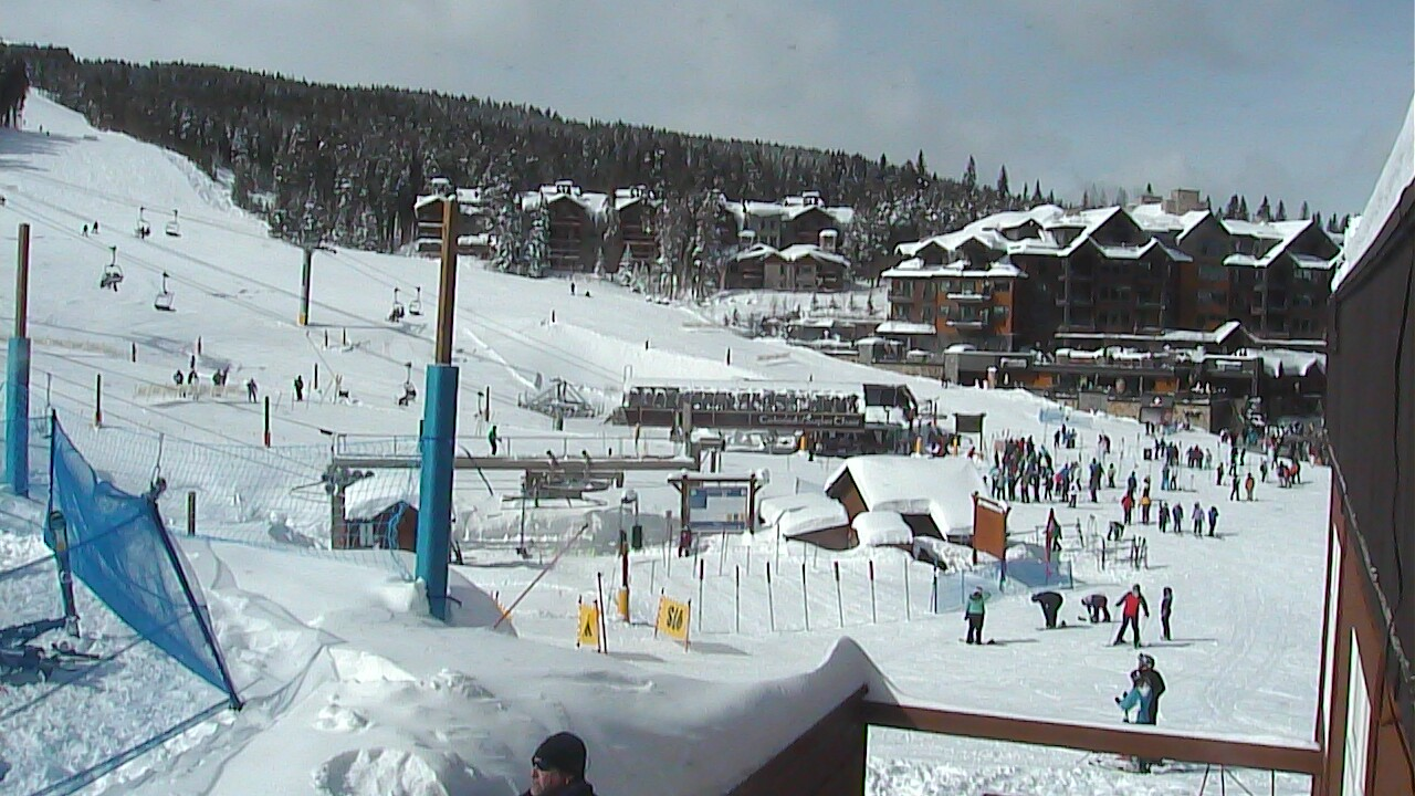 The base of Peak 8 at Breckenridge around 1:30 p.m. Tuesday. / Photo courtesy Breckenridge