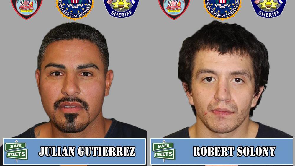 Julian Gutierrez and Robert Solony / Pueblo Police Department