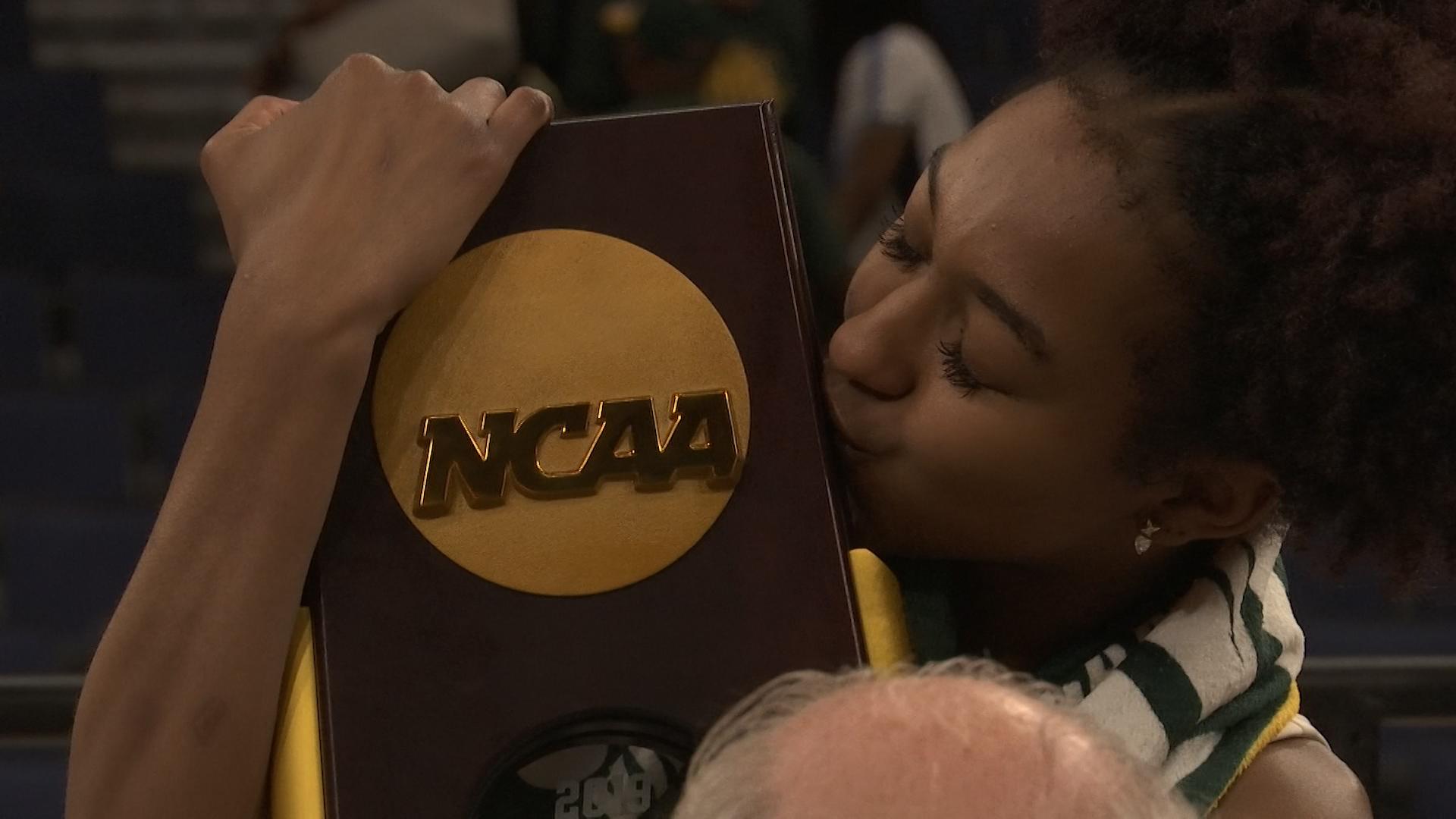 Didi Richards NCAA Trophy