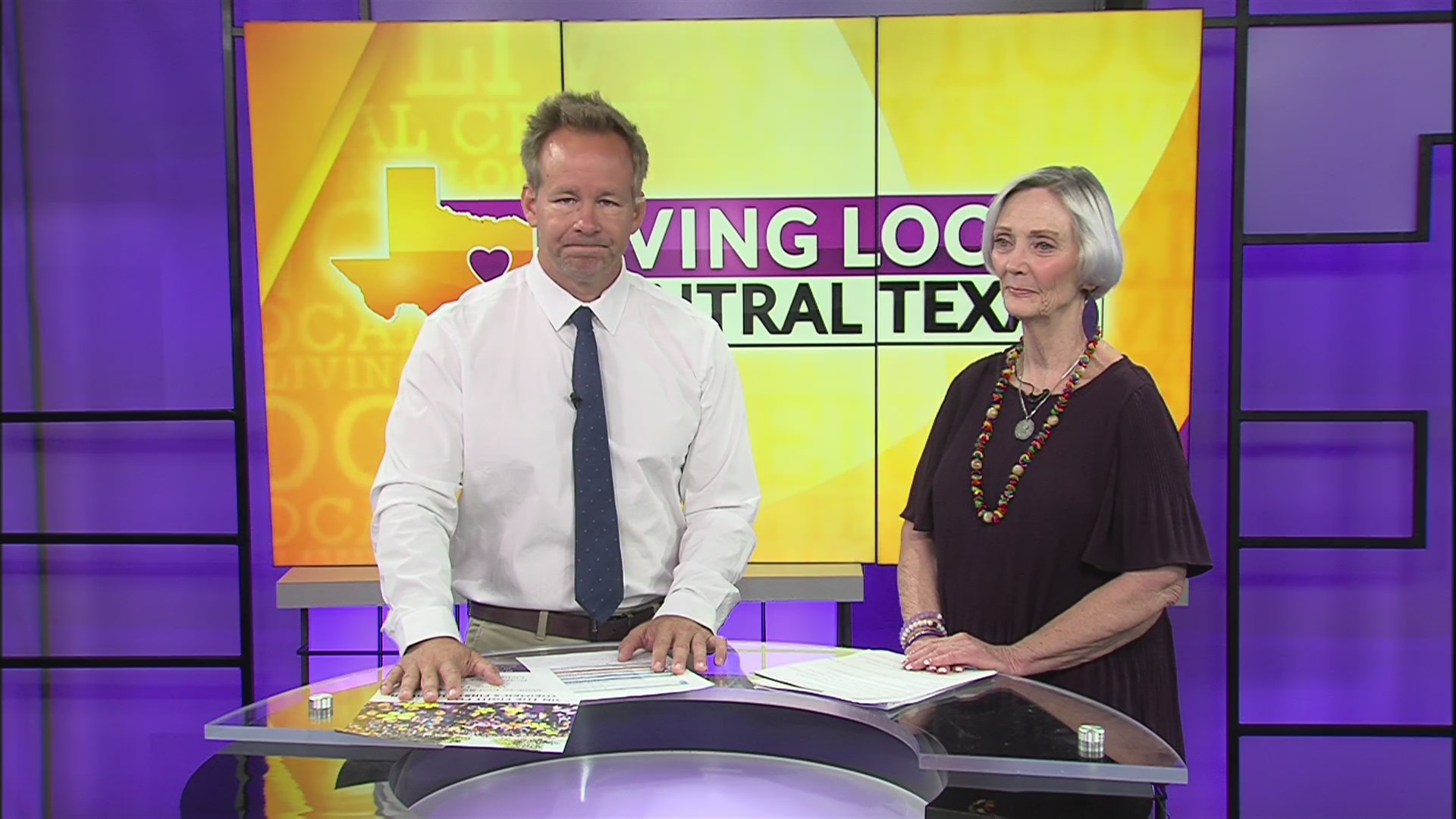 Living Local Central Texas: Walk to End Alzheimer's   KWKT