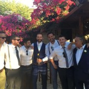 A picture of a wedding in Paphos