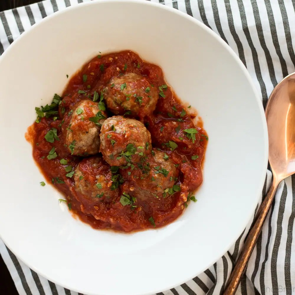 Make Ahead Meatballs (Paleo, Gluten Free, Whole 30)
