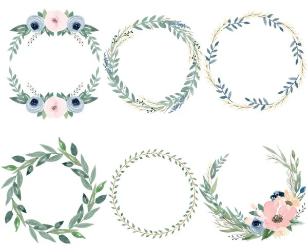wreath template free # 35