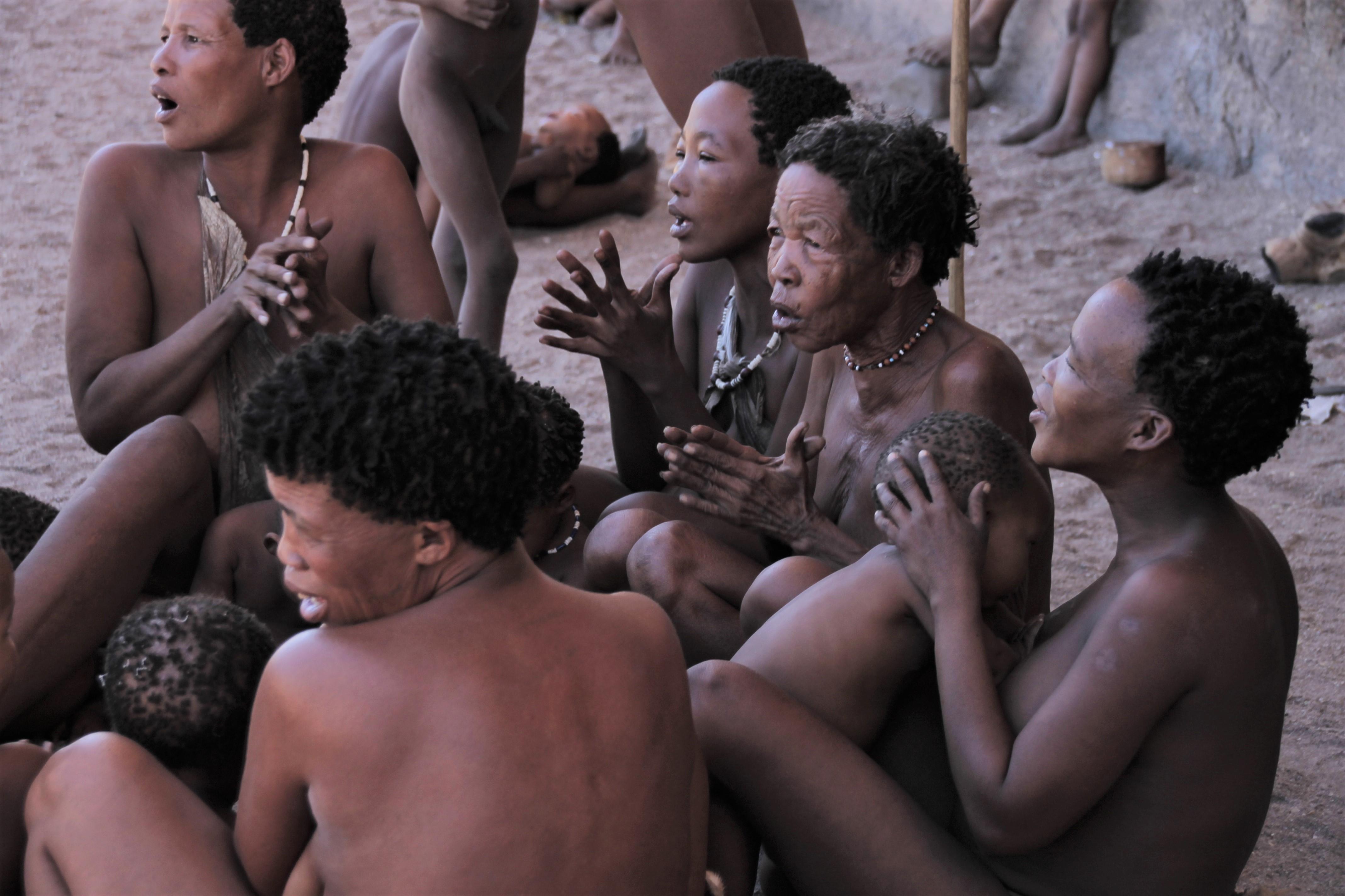 Singing Women Photography San Namibia Native