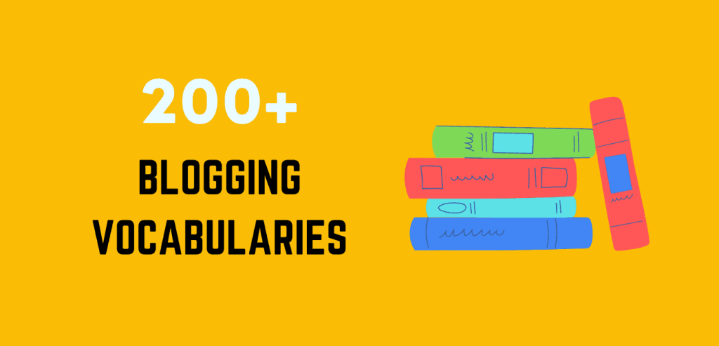 Blogging Terms And Vocabulary