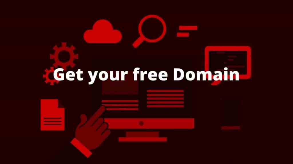 Hosting with free domain name