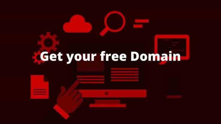 Hosting companies provides free domain names