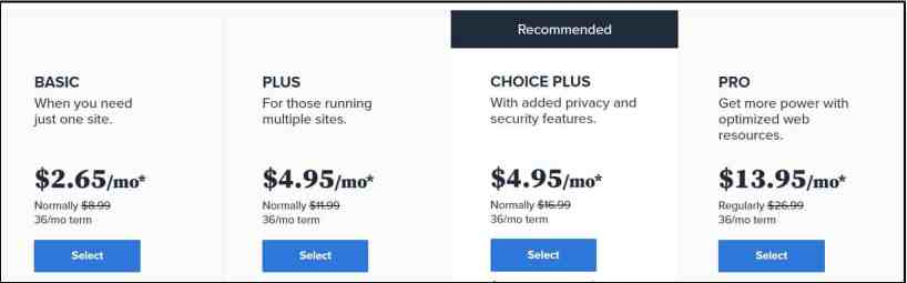 Bluehost Black Friday Prices