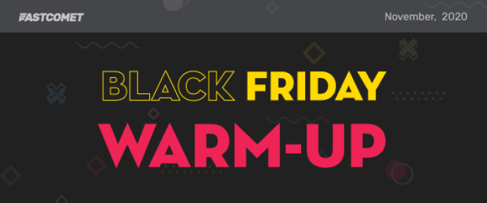 FastComet Black Friday offers