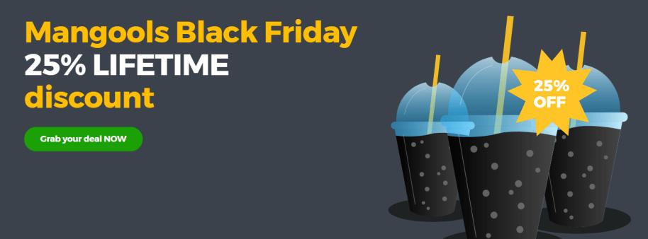 Mangools Black Friday discounts