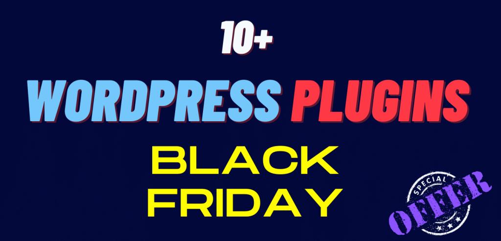 WordPress Plugins Black Friday Deals