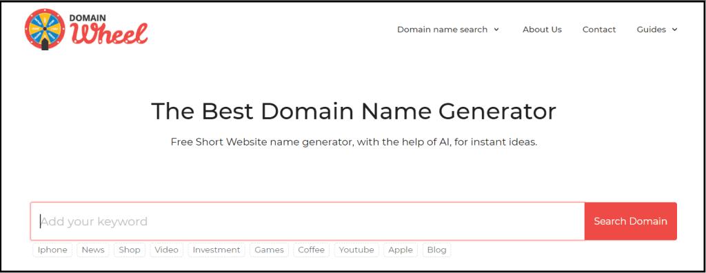 Best Domain name generators for website