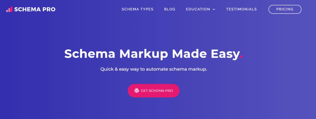 Schema Pro SEO Plugin for Website