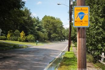 2015 New Jaycee Sign - Central Street near Mansfield Line