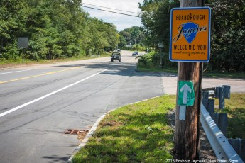 2015 New Jaycee Sign - Route 140 Near Wretham Line