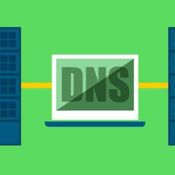 Imagem ilustrando apontamento de DNS