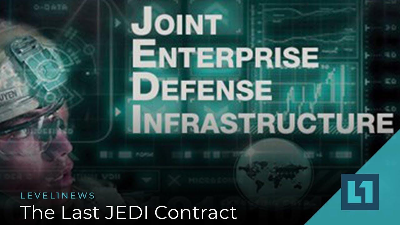 Pentagon reaffirms decision to award multi-billion JEDI contract to Microsoft