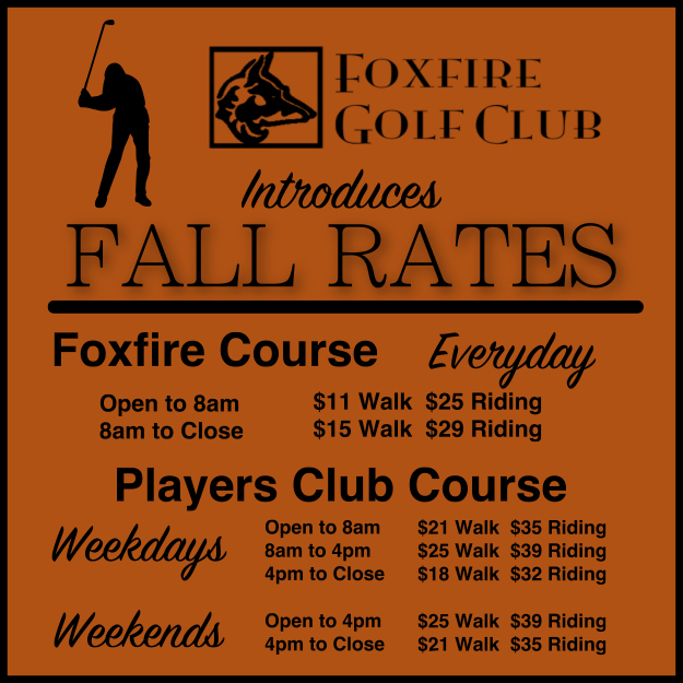 September Fall Rates