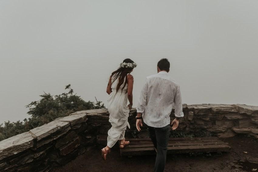 north carolina elopement wedding photographer
