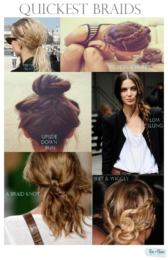 6 Of The Quickest Braids In Town Fox In Flats
