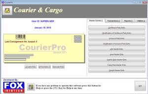 courier software free download