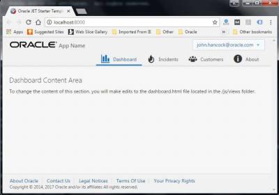 Install Oracle Jet on Windows 7
