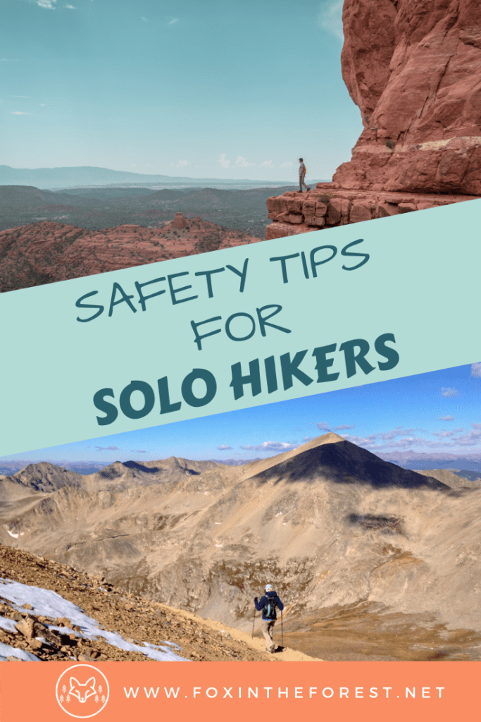 safety tips for solo hikers. Go on your first solo hiking adventure. Advice for solo adventure travelers on their first walking holiday. #solotravel #outdoors