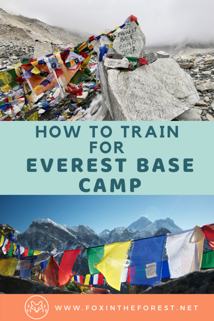 The complete guide to training for Everest Base Camp. Effective trekking training tips for visiting Mount Everest. Travel to Everest Base Camp with these training tips. #nepal #travel #hiking #himalaya