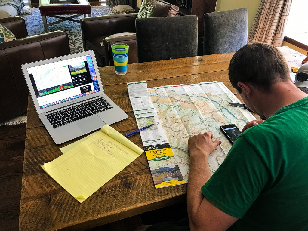 trip plan tips for backcountry travel