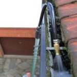 water gutter flush