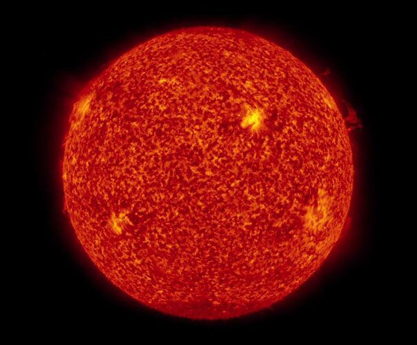View of the Sun
